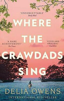 Where the Crawdads Sing by Delia Owens Paperback Book Free Shipping!