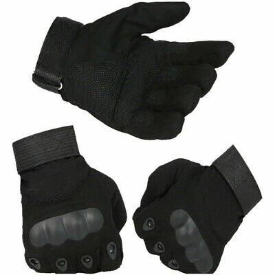 Tactical Hard Knuckle Gloves Mens Army Military Airsoft Work Duty Patrol Driving