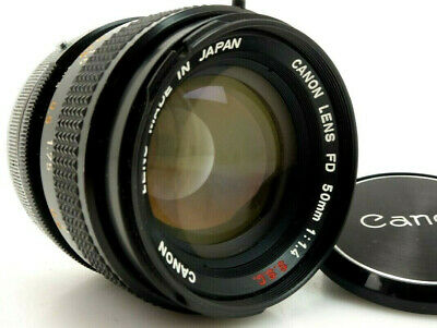 Canon 50mm f1,4 SSC for Canon FD No 671902 Chromring jr143