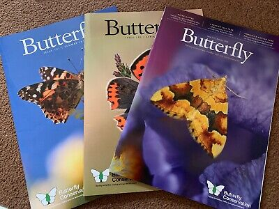 3x Butterfly Magazine 2019