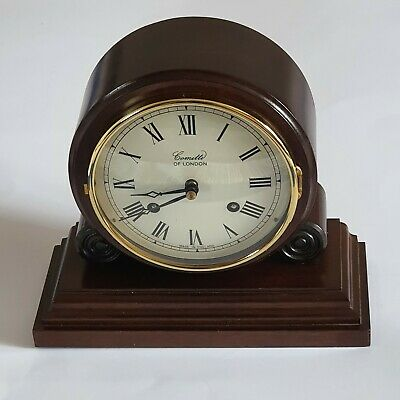 Comitti Of London-Mantel Clock-Barrel Model-COO9S-Eight Day-Striking Movement