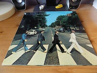 THE BEATLES-ABBEY ROAD CLASSIC 1960s POP/ROCK VINYL LP
