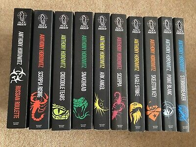 Alex Rider Complete Collection - Anthony Horowitz - 10 Books