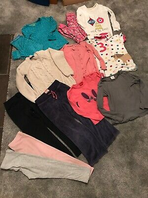 Mini Boden M&S Next Joules 5-6Yrs Girls Bundle Cardi Jumper Pjs Leggings Tops