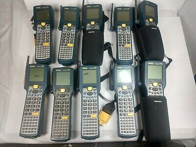 Lot of 10 Intermec Trakker 2425 Antares Scanners  3 Cases UNTESTED FOR PARTS