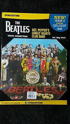 The beatles sgt peppers lonely hearts club band. Sealed Vinyl Album & magazine.