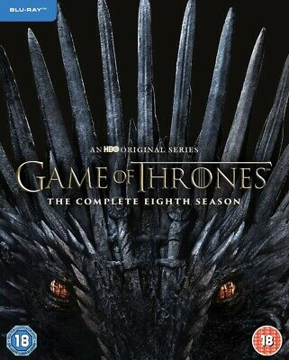 Game of Thrones: Complete Season 8 [2019] (Blu-ray)