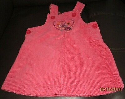 Baby Girls Mothercare 3-6 Months  Pinafore Dress