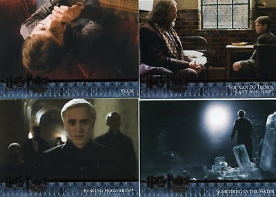 Harry Potter HBPU Collector/Trading Cards Partial Set Missing #118 & #175