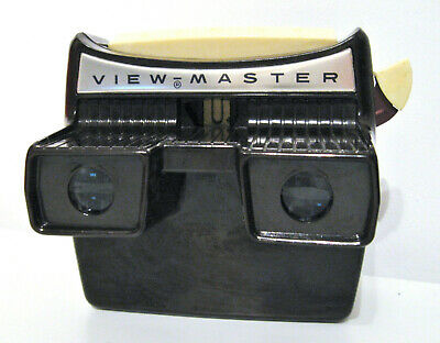 Vintage VIEWMASTER Model F with light Sawyers Bakelite Toy
