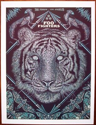 FOO FIGHTERS The Forum Los Angeles California 2015 Rock Concert mini Poster