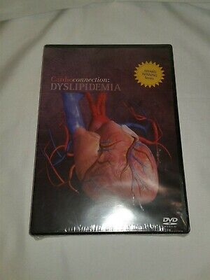 Cardioconnection Dyslipedimia DVD Brand New Factory Sealed Fast Shipping!