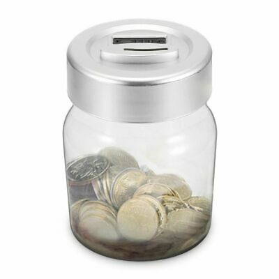 Aussie Coin Money Counting Jar Digital LCD Display OZ Coins Piggy Bank Collect