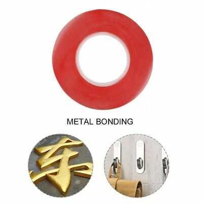50M 2mm Multi-role Heat Resistant Double-sided Transparent Clear Adhesive Tape^O