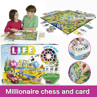 New Edition The Game of Life Board Game Fun Party Kids Family Interactive Toy UK