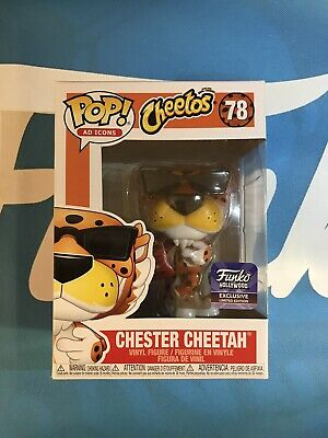 Funko Chester Cheetah w/ Cheetos Funko Hollywood Grand Opening Exclusive IN HAND