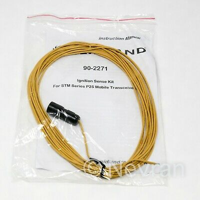 Midland 90-2271 P25 Mobile Radio Transceivers Accessory Ignition Sense Cable 20'