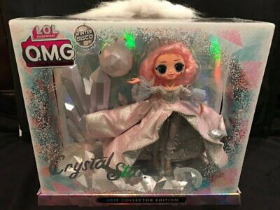 LOL Surprise! OMG Crystal Star 2019 Collector Edition Doll Winter Disco New