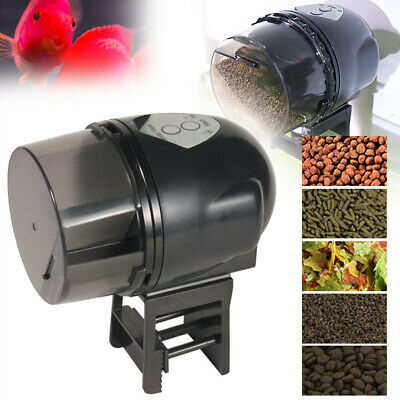 Automatic Turtle Fish Food Feeder Dispenser Feeding Timer Aquarium Tank Pond AU