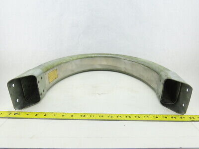 """4"""" x 2"""" Enclosed Galvanized Cable Carrier Drag Chain 38"""" OAL"""