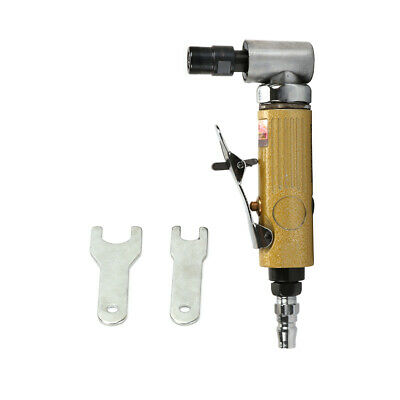 """Mini Air Die Grinder Right Angle Pneumatic Tool 90PSI 25000RPM Collet 1/8"""" 1/4"""""""