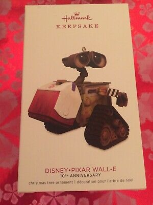 NIB HALLMARK KEEPSAKE 2018 Disney Pixar Wall-E 10th Anniversary Ornament