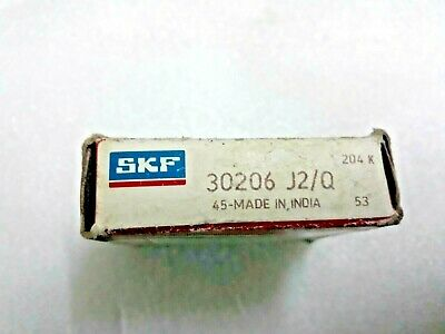 SKF 30206 J2//Q Metric Tapered Roller Bearing 30mm x 62mm x 17.25mm FACTORY NEW