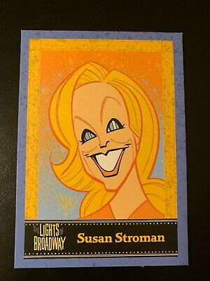 Susan Stroman Lights of Broadway Show Card SPECIAL SUMMER 2015 PREVIEW OOP
