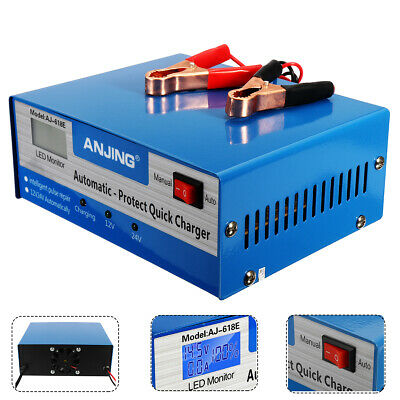 Car Battery Charger Automatic Intelligent Lead Acid Pulse Repair Starter  ☆ UK