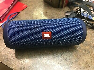 JBL Flip 3 Splashproof Portable Rechargeable Bluetooth Speaker Blue