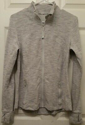 LULULEMON Define Jacket Women's Size 10 Full Zip Gray (Wee Are From Space…?)