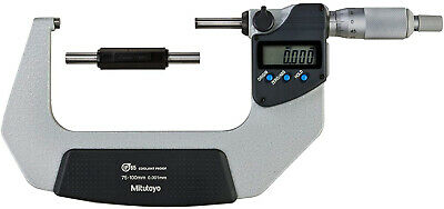 Mitutoyo 293-233-30 Digimatic Coolant Proof Micrometre, 75 mm-100 mm