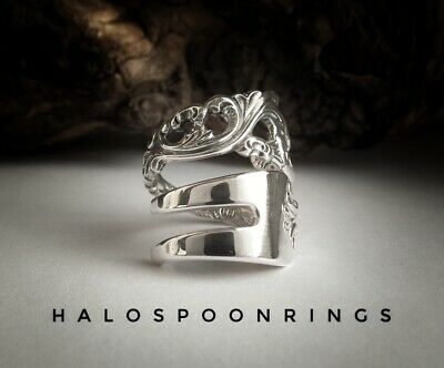 Stunning Norwegian Sterling Silver Pickle Fork Ring Only One Available!!