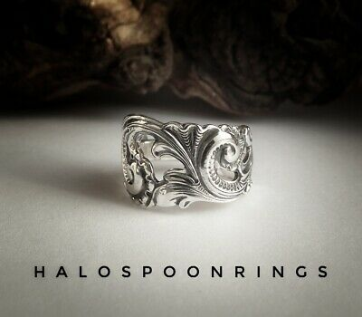 Stunning Unique Norwegian Sterling Silver Spoon Ring Only One Available!!