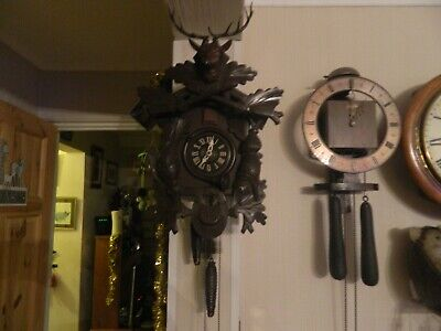 Black Forest Cuckoo Clock Spares Or Repair