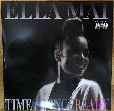 "Ella Mai "" Time Change Ready "" New Lp Vinyl 16 Tracks Soul R&B Hip Hop Rap"