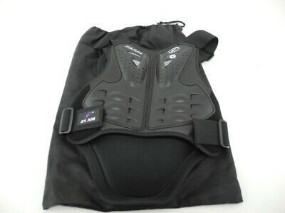 New! JiaJun Adult Motorcycle Chest Plate & Back Protector Body Armor (Small)