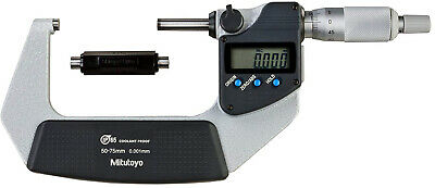 Mitutoyo 293-232-30 Digimatic Coolant Proof Micrometre, 50 mm-75 mm