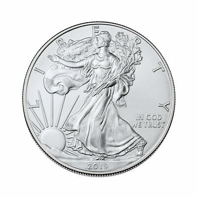 Free Shipping 2019 1 oz American Silver Eagle 1$ GEM Commemorative Coin