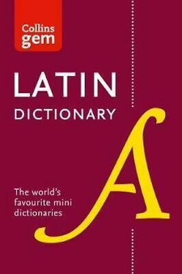 NEW Collins Gem Latin Dictionary [Third Edition] By Collins Dictionaries