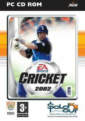 Cricket 2002 (PC CD), , Like New, Video Game