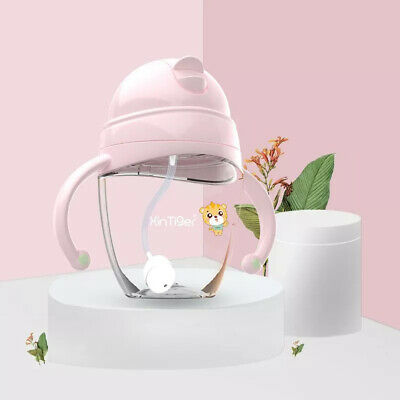 Drinking Education Bite Resistant Straw Cup For Baby Non Toxic Sippy Translucent