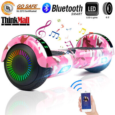 6.5'' Bluetooth LED Hoverboard Self Balancing Scooter UL2272 Music Bag Best Gift
