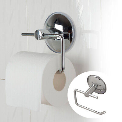 Home Bathroom Stainless Steel Tissue Holder Toilet Roll Wall Mounted With Cover