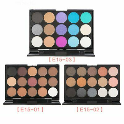 15 Color Matte Eyeshadow Palette Cosmetic Shimmer Eye Shadow Make Up Kit z