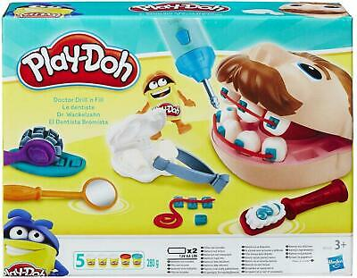 Doctor Fill Pretend Dentist Clay Fun Activity Set Kids Toy Without Batteries New