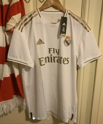 BNWT Real Madrid Adidas 2019/20 Home Shirt - Size L Large