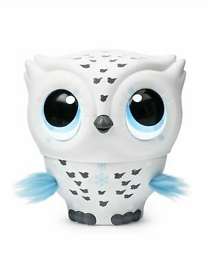 Owleez, Flying White Baby Owl Interactive Toy Pet Lights & Sounds Kids Activity