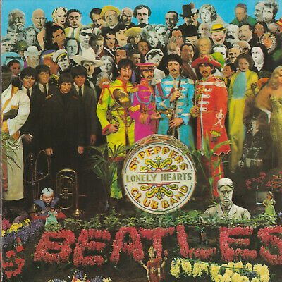 The Beatles  SGT. PEPPER'S LONELY HEARTS CLUB BAND  13trk cd