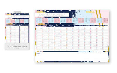 2020 Year Planner - Wall Calendar Monthly Calendar Daily Notes